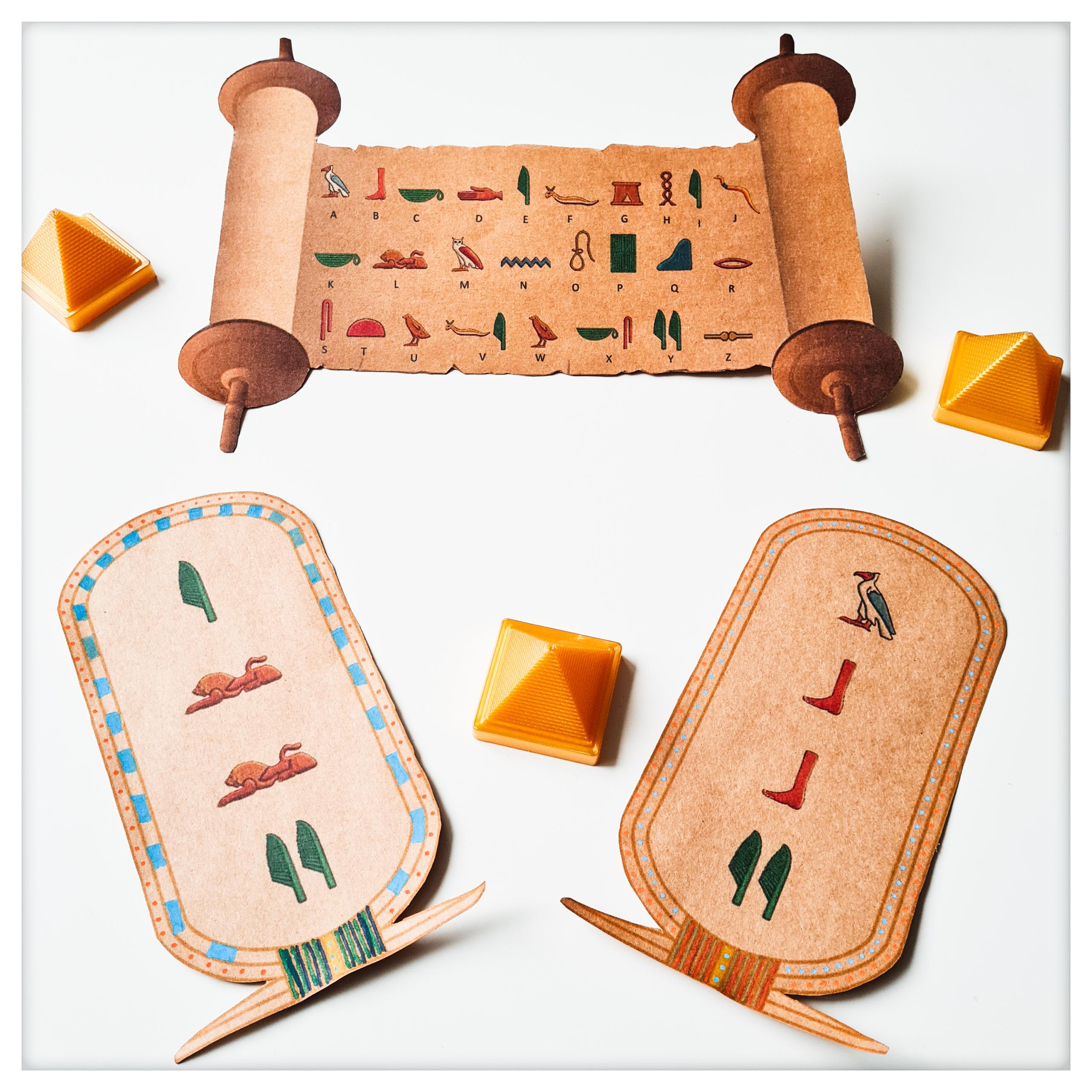 Égyptien Personnalisé Nom Argent Sterling Cartouche En Hiéroglyphique 3-9 Lettre