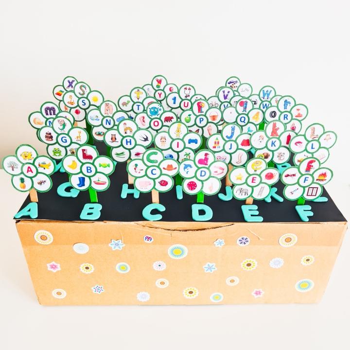 Les fleurs de l'alphabet